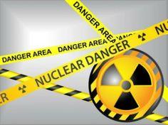 """Las señales de advertencia """"Peligro nuclear"""""""