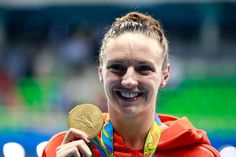 A second #Gold medal for Katinka Hosszú #HUN! This time in the Women's 100m Backstroke!