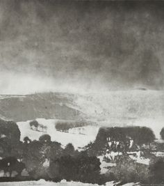 """""""Midwinter, North Yorkshire"""" by Norman Ackroyd (etching) Landscape Drawings, Abstract Landscape, Landscape Paintings, Norman Ackroyd, Black And White Painting, Chiaroscuro, Best Artist, Watercolor Print, Pretty Pictures"""