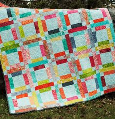 Patchwork QUILT PATTERN JELLY ROLL or Fat Quarters QUICK ...