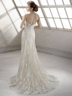 Sottero and Midgley - Viera - a little bit of lace, a little bit of sparkle