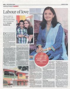 New Sunday Times did a beautiful feature on my wife, Datin Umayal and her painstaking efforts in building up Taarana, our school for children with special needs in Malaysia. Check out the news clipping, or read it online. http://www.nst.com.my/node/23736