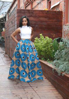 Maxi- Circle Skirt