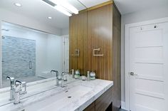Contemporary bathroom by Johnson & Associates Interior Design