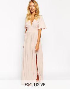 Love+Kimono+Sleeve+Maxi+Dress