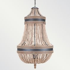Basque Chandelier  In natural cerused oak and greay cerused oak.    Shine by S.H.O