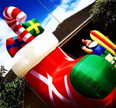 Have you seen our giant Christmas #boot #shoe #sock ?  Thank you Grovers for your great #christmas #decorating efforts  Tag #aguidetooceangrove for #awesome local #festive #bling   #aguideto #smallbusiness #shoplocal #livelovelocal  #instagood #photography #ocean #beach #surf #fun #amazing #art  #oceangrove #barwonheads #bellarine #bellarinepeninsula #geelong #visitvictoria #tourismgeelong #australia by a_guide_to_oceangrove http://ift.tt/1JO3Y6G