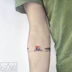 Mondrian✌ #tattoo