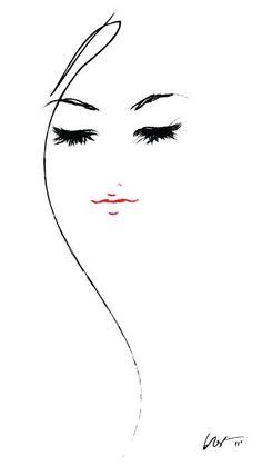 #art #women #black #white