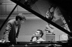 Gould and Karajan