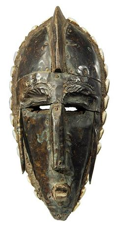 Bamana Marka Metal Plated Mask 11, Mali
