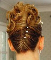 I love this! and my length hair is perfect for the style.