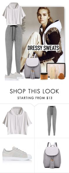 """Comfort is Key: Sweatpants"" by purenaturaldiva ❤ liked on Polyvore featuring Markus Lupfer, adidas, naturalbeauty, sweatpants, organicbeauty and purenaturaldiva"