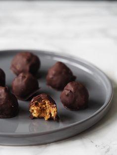 Sunde Snickers bites, uden tilsat sukker