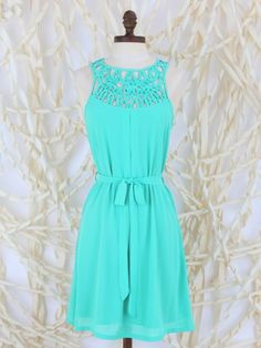 Quirky Lattice Sundress
