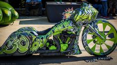 Green Giant Chopper | Totally Rad Choppers