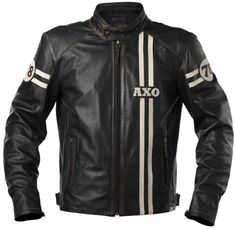 Dark Brown Armored Distressed Cafe Racer Leather Jacket ...