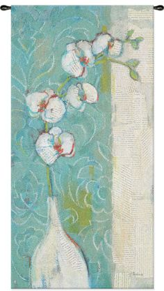 Spa Orchid Tapestry Wall Hanging Framed Artwork, Wall Art, Tapestry Wall Hanging, Find Art, Orchids, Arts And Crafts, Projects, Painting, Spa