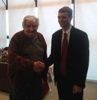 """""""Presidente vieni in Italia"""" L'invito di Eugenio Marino, responsabile degli italiani nel mondo del Partito Democratico, a Pepe #Mujica presidente dell' #Uruguay"""