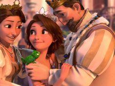 Queen & King of Corona & Princess Rapunzel Tangled-Wallpaper-tangled-28835057-1024-768.jpg (1024×768)