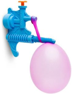 Toy / Game Imperial Toy Tie-Not Water Balloon Filling Set - Color May Vary - Excellent Product For Kids. Tie-Not makes filling and tying balloons fast and easy. Excellent product for kids. 2 steps to big splash. Made from recycled materials. Water Balloon Filler, Water Balloon Fight, Water Balloons, Water Fight, Best Outdoor Toys, Outdoor Play, Filling Balloons, Holi Party, Clever Gadgets