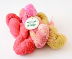 Picture of Baah Yarn Trio for Afternoon at the Louvre Shawl Cherry Blossom