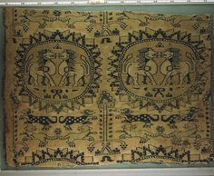 Sassanian silk lions, V&A Museum, London, actually 9th ct