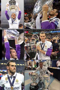 Gareth Bale Real Madrid la Duodecima 2017 Bale 11, Bale Real, Gareth Bale, Football Players, Baseball Cards, Soccer, Real Madrid Football, Champs, Sports