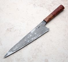 Mallee San Mai Chef Knife 220mm handmade by Saul Kokkinos-Kennedy of SKK Knives.