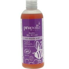 Gel #douche certifié Bio de #Propolia.  L'odeur gourmande de la Mandarine se marie avec les propriétés purifiantes et protectrices de la #Propolis, dans ce gel douche créé pour toute la famille. Succombez à sa douceur active !