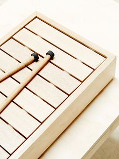 henry madin / wooden instrument
