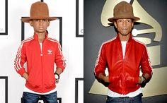 i love pharrell's HAT!