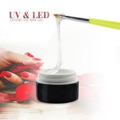 5 Colores Empapa del Gel Ultravioleta Fuerte Extensión de Uñas de Gel Base de esmalte de Uñas de Gel Polaco ULTRAVIOLETA del Gel Del Arte Del Clavo Herramientas 12ML-GX