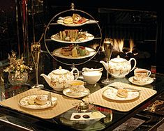 Tea Tuesday: Earl Grey is Also Great to Eat with Afternoon Tea