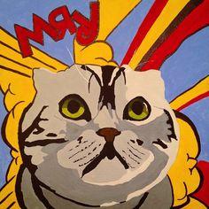 Comics cat #funmade Art