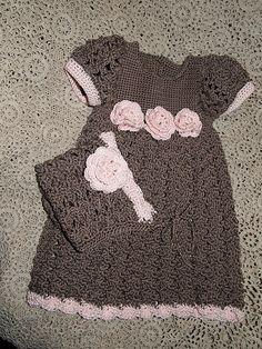 Ravelry: grammyioco's Chocolate Kiss Crochet Children, Crochet For Kids, Crochet Baby, Little Cherubs, Crochet Clothes, Christening, Ravelry, Needlework, Kiss