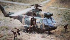 SAAF Puma Helcopter was a brilliant workhorse bringing in Soldiers Supplies. Sometimes under fire the pilots flying the Puma helicopters would fulfil.