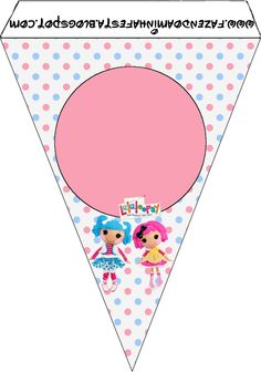 Making My Party!: Lalaloopsy - Complete Kit with frames for invitations, labels for candy, souvenirs and pictures!