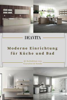 Genial Entdecken Sie Die Moderne Einrichtung Für Küche Und Bad Aus Der Neuer  Kollektion Von Scavolini,