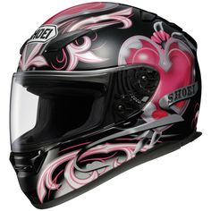 2012 Shoei Women's RF-1100 Corazon Helmet