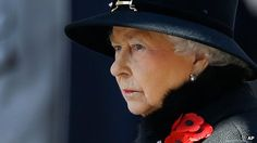 The Queen at the Cenotaph, you could have heard a pin drop! Click to watch
