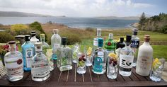 New gins and vodkas available from the Lounge Bar