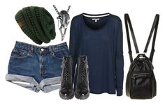 """""""Untitled #292"""" by marvelteen ❤ liked on Polyvore featuring J Brand and Emilie Morris"""