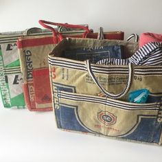 Recycled Cement All Purpose Bag/Tote