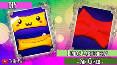 DIY LINDAS CARTUCHERAS SIN COSER  ||| Hey You TV!
