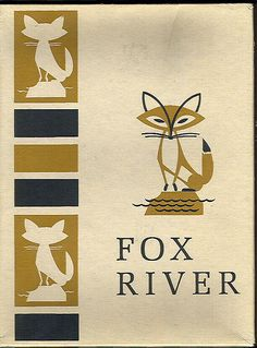 Fox River typing paper box design, c. 1960s.