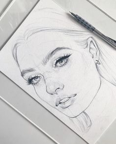 Sketch 🖊 ______________________________________… Sketch 🖊 ______________________________________________ Paper Canson Moulin du Roy Pencil Pentel The post Sketch 🖊 ______________________________________… appeared first on Woman Casual - Drawing Ideas Cool Sketches, Art Drawings Sketches, Easy Drawings, Pencil Drawings, Pencil Sketching, Pencil Drawing Tutorials, Sketching Tips, Portrait Sketches, Portrait Au Crayon