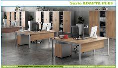 Soluciones completas para compartir espacios, bench con ala y cajonera altura mesa personalizada con color corporativo.