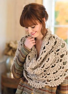 "Pattern available to buy for ""Elodie Cowl""...I love that it's oversized...so cozy!"