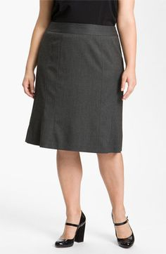 Sejour Paneled Skirt (Plus) available at #Nordstrom